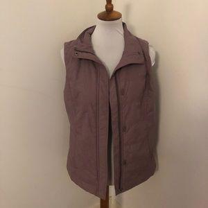 Columbia EUC purple puffer vest m